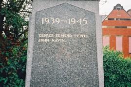 Clara Vale War Memorial