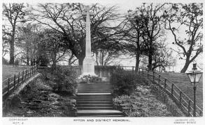 Ryton war memorial